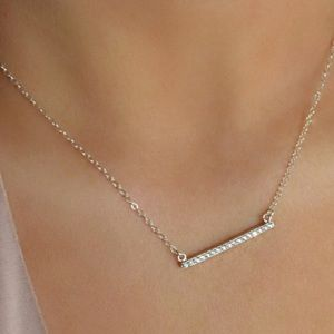 💕💕Pave Crystal Necklace